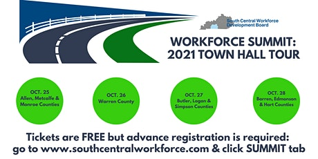 Workforce Summit: 2021 Town Hall Tour for Barren, Edmonson & Hart Counties tickets