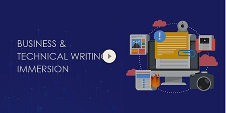 Business and Technical Writing Immersion tickets