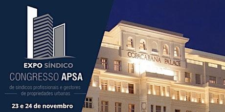 EXPO SÍNDICO CONGRESSO APSA ingressos