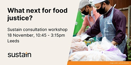 Food Justice consultation - LEEDS tickets