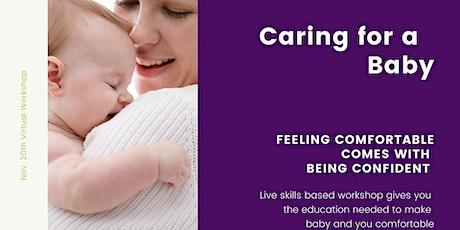 Live Workshop on Infant Care for Caregivers tickets