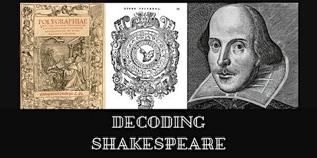 Decoding Shakespeare: Of Anagrammatology tickets