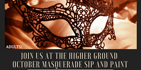 HG October Masquerade Sip and Paint) tickets
