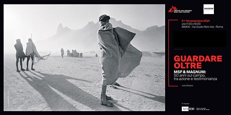 Guardare oltre - MSF&MAGNUM: 50 anni sul campo, tra azione e testimonianza biglietti