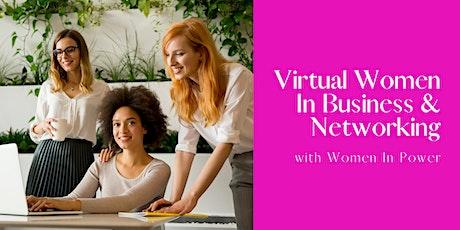 Virtual Women In Business & Networking! tickets