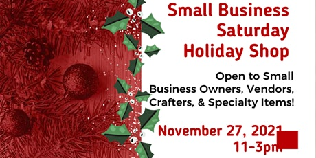 Small Business Saturday Vendor Shop tickets