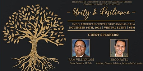 Indo-American Center 31st Annual Gala: Unity & Resilience tickets