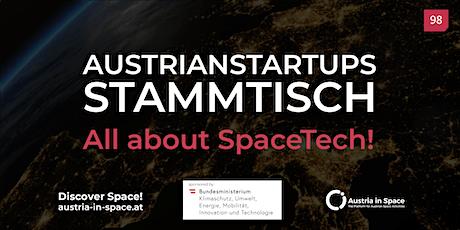 AustrianStartups Stammtisch #98 - All about SpaceTech! tickets