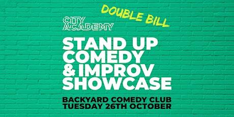 City Academy Stand Up Comedy & Improv Showcase | 26/10/2021 tickets
