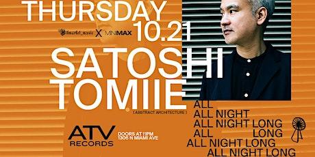 SATOSHI TOMIIE (All Night Long) tickets