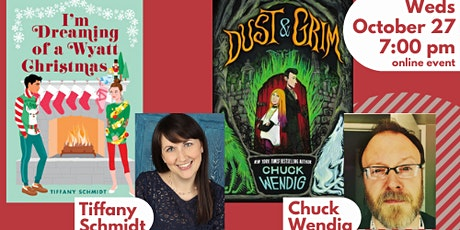 Tiffany Schmidt and Chuck Wendig: Halloween v Christmas | online event tickets