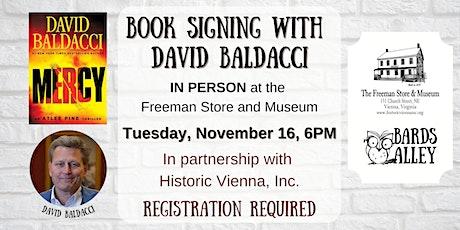 David Baldacci - MERCY Signing tickets