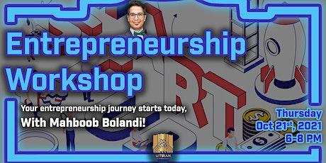 Entrepreneurship Workshop tickets