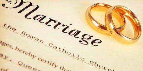 Marriage Convalidation Workshop tickets