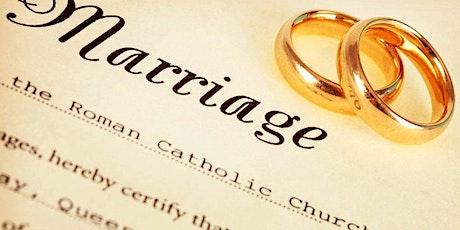 Marriage Convalidation Workshop entradas