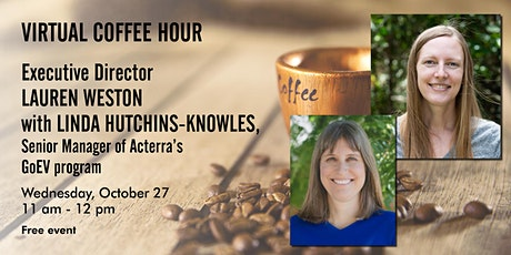 Virtual Coffee Hour with Acterra's Executive Director: Electrification tickets