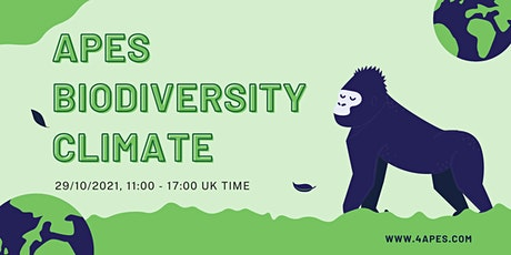 Apes, Biodiversity, and Climate Conference tickets