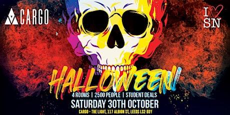 Halloween at Cargo Leeds // Sat 30th Oct // Superclub // Drink deals + More tickets