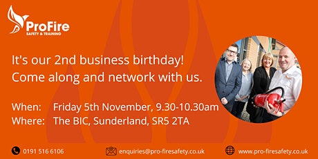 ProFire Business Birthday Networking tickets
