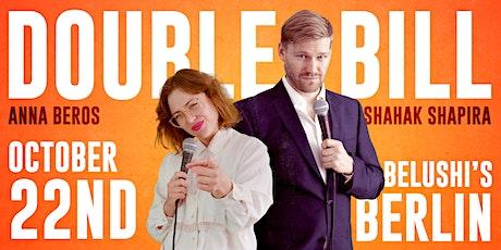 Anna Beros / Shahak Shapira - DOUBLE BILL Show! tickets