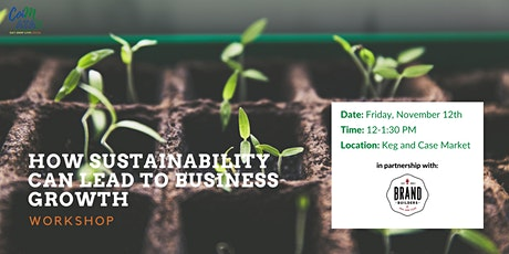How Sustainability can Lead to Business Growth: Workshop from Coimatan tickets