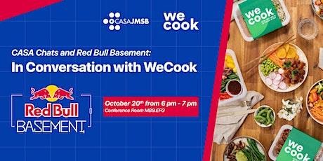 CASA X Red Bull Basement: In Conversation w/ WeCook tickets
