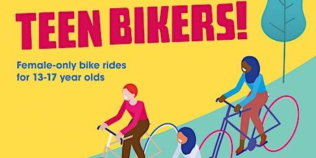 Teen Bikers -  25th October 2021- Lloyd Park to Highams Park Lake tickets