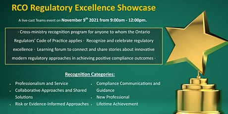 Regulatory Excellence Showcase tickets