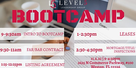 BOOTCAMP - CONTRACTS & TECHNOLOGY tickets