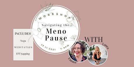 Navigating the Menopause tickets