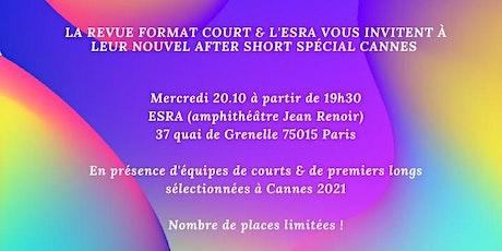 After Short Cannes 2021 billets
