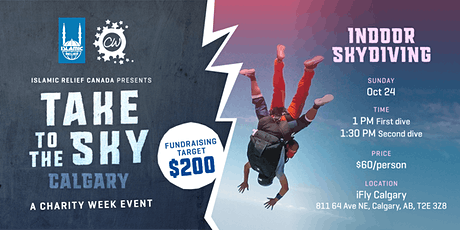 Take to the Sky! An Indoor Skydiving Challenge in Calgary tickets