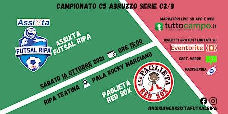 Assixta Futsal Ripa - Paglieta Red Sox biglietti