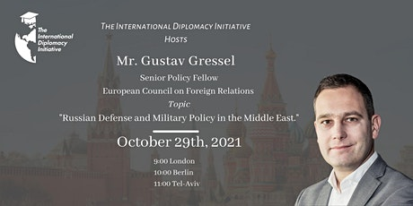 Russian Defense and Military Policy in the Middle East tickets