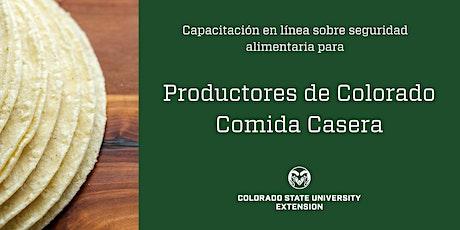 Productores de Colorado Comida Casera entradas