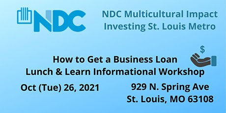NDC Presents: How to get a business loan tickets