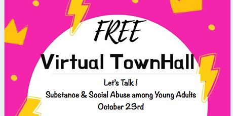 Let's Talk  -  Substance and Social Addiction among Young Adults ( FREE) tickets