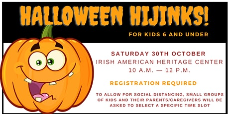 Halloween Hijinks - Free Family Fun tickets