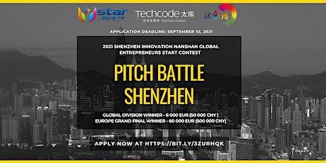 2021 Shenzhen Innovation Nanshan Entrepreneur Stars Contest tickets