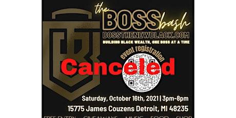 Boss Bash Pop Up Shop - CANCELED tickets