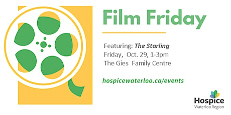 """Film Friday   - """"The Starling"""" tickets"""