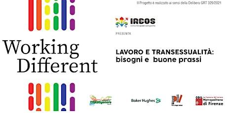 Lavoro e transessualità: bisogni e buone prassi - Conferenza online biglietti