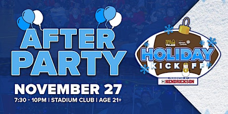 Hall of Fame Village Holiday Kickoff After Party tickets