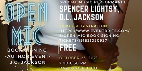 Open Mic & Book Signing tickets