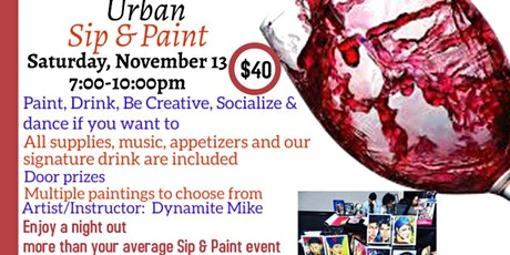 Urban Sip & Paint tickets