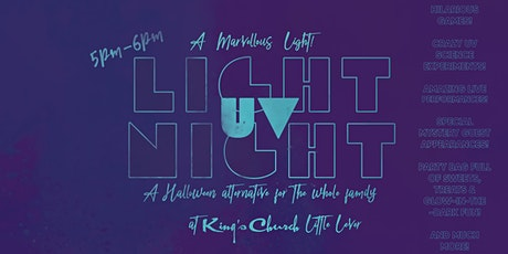 Uv Light Night 5pm-6pm Sunday 31st October tickets