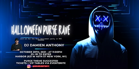 Halloween Purge Rave tickets