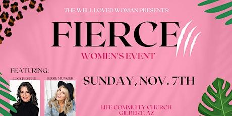 Fierce Women's Event tickets