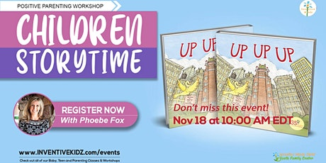 Children Storytime - Up Up Up with Phoebe Fox tickets
