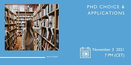 PhD Choice and Application tickets